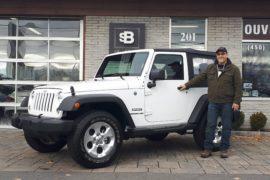 Jeep wragler 2016 blanc 1