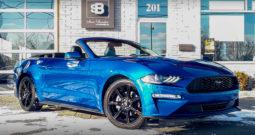 2018 Ford Mustang Premium EcoBoost *GPS, Cuir, Tout Équipé* 11188 KM