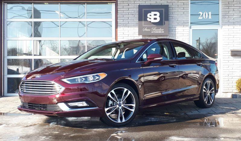 2018 Ford Fusion Titanium AWD 12979 km GPS/Cuir/Toit/SYNC plein