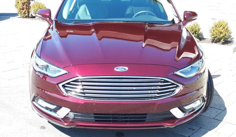 2018 Ford Fusion Titanium AWD 12979 KM (VENDU 3 MAI 2019) plein