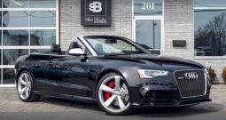 2015 Audi RS5 Quattro Convertible (VENDU 14 MAI 1019)