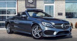 2018 Mercedes-Benz C300 4Matic Cabriolet 10758 KM (VENDU 13 MARS 2019)