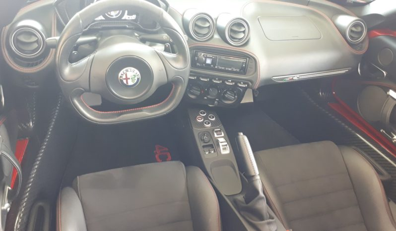 2016 Alfa Romeo 4C Spider 8977 KM plein