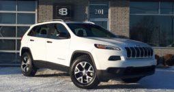 2017 Jeep Cherokee SPORT 4WD *5854 km*