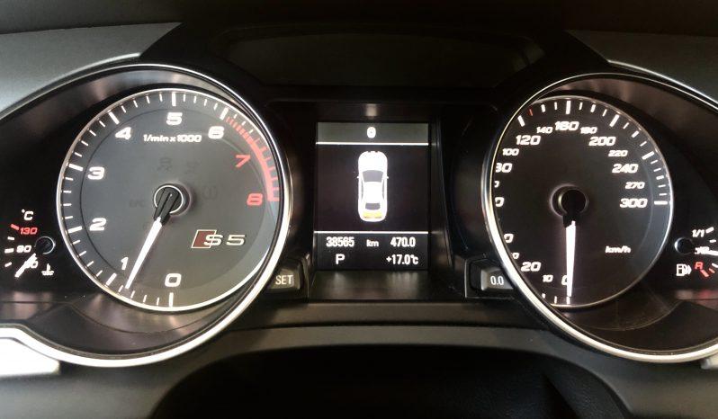 2017 AUDI S5 Technik Quattro Cabriolet (VENDU 20 AVRIL 2021) plein