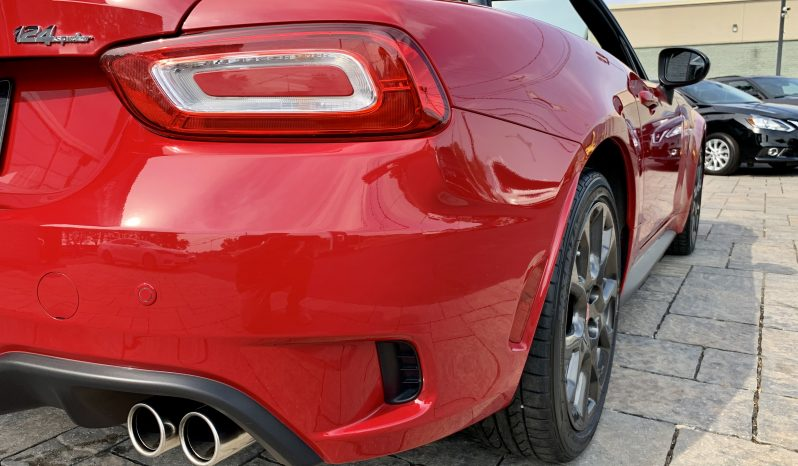 2017 FIAT 124 Spyder ABARTH Convertible 10340 KM (VENDU) plein